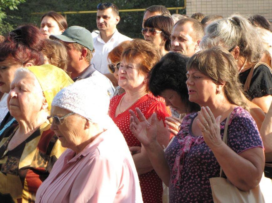 На главной площади Мелитополя прошел всеобщий молебен (фото, видео), фото-3