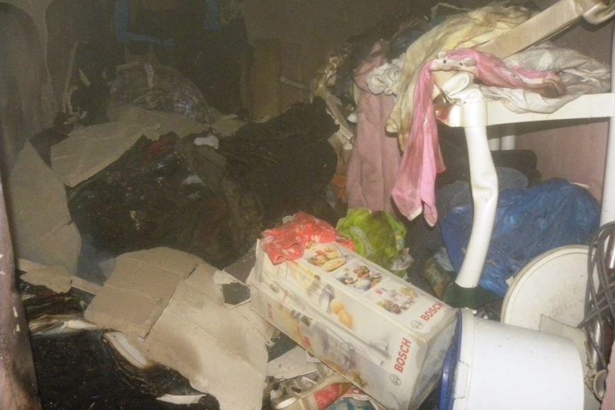 В Чернигове горела пятиэтажка, фото-5