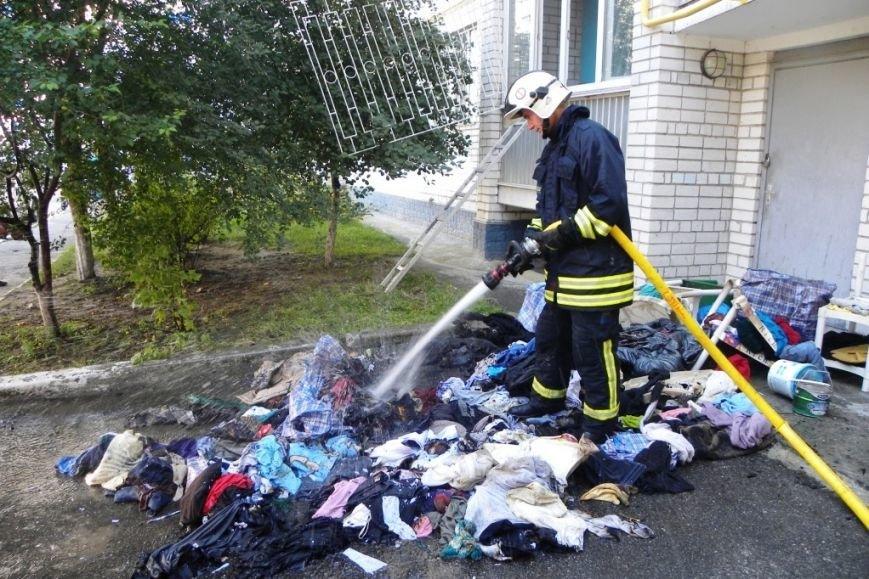 В Чернигове горела пятиэтажка, фото-6