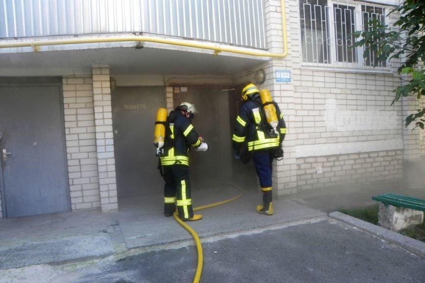 В Чернигове горела пятиэтажка, фото-3