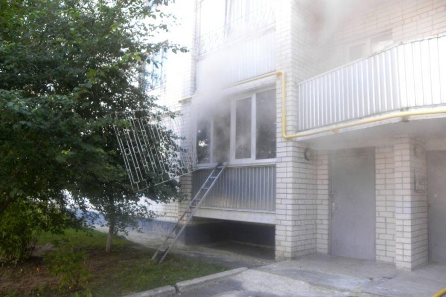 В Чернигове горела пятиэтажка, фото-2