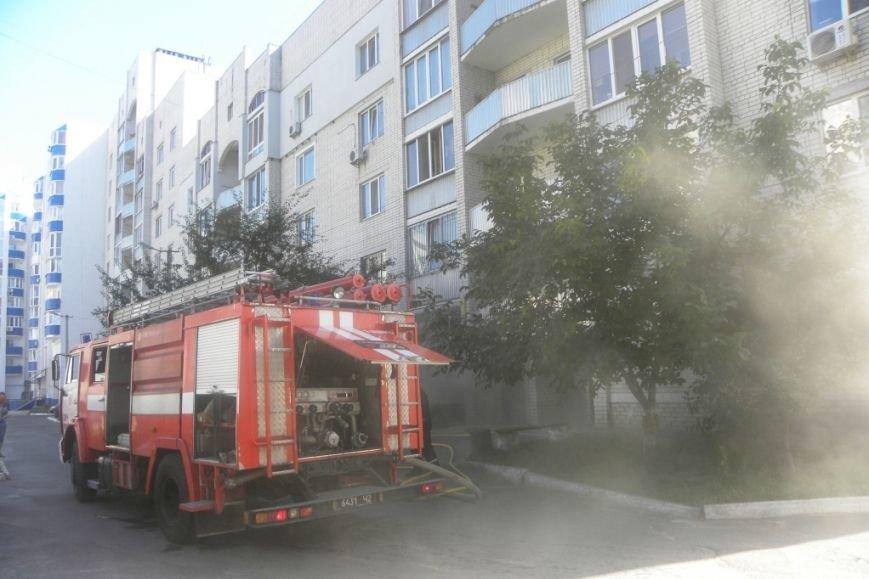 В Чернигове горела пятиэтажка, фото-1