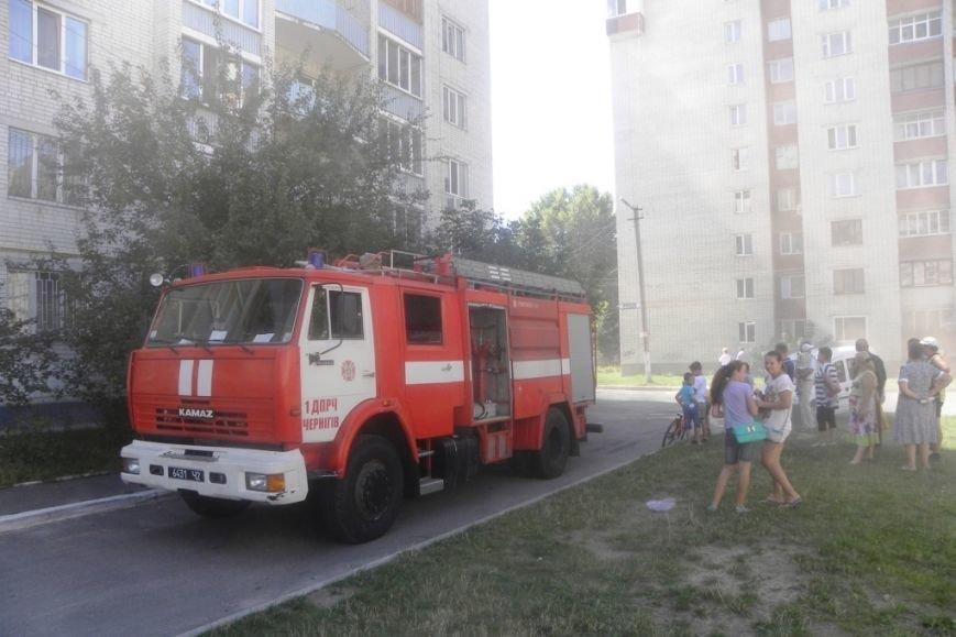 В Чернигове горела пятиэтажка, фото-4