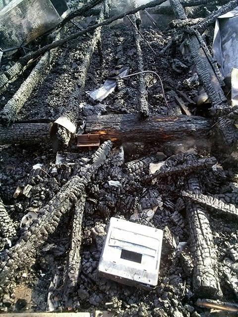"""В Коблево горела база отдыха """"Автомобилист"""" (ФОТО), фото-1"""