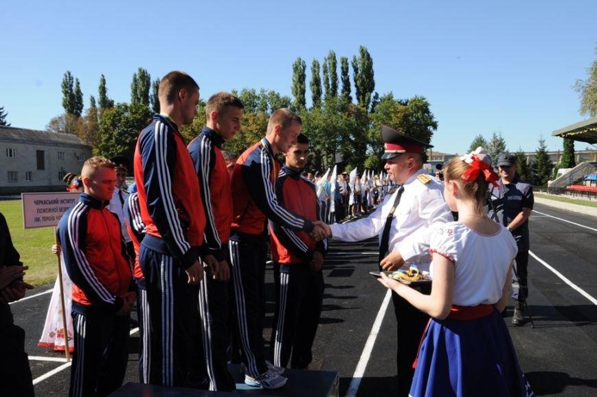 Кропивницкий: состоялась торжественная церемония награждения победителей соревнований на Кубок Украины по пожарно-прикладному спорту, фото-5