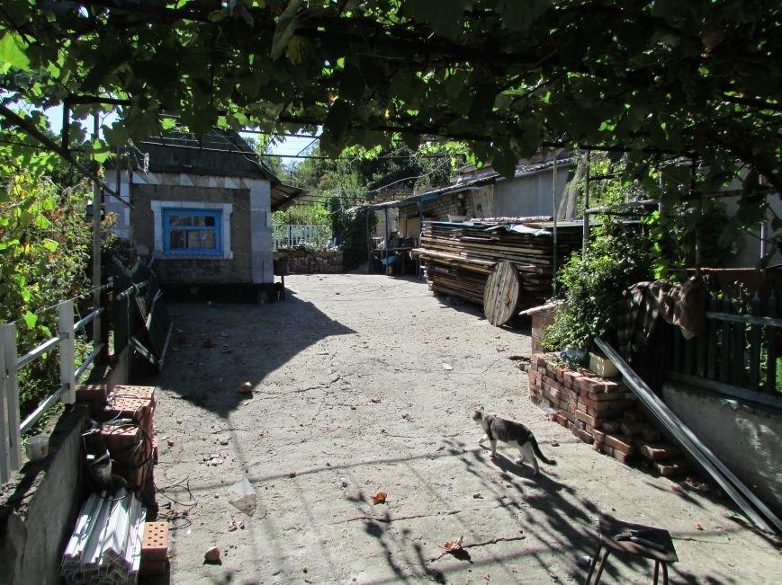 В результате ночного  обстрела в Авдеевке повреждены два дома (ФОТО), фото-9