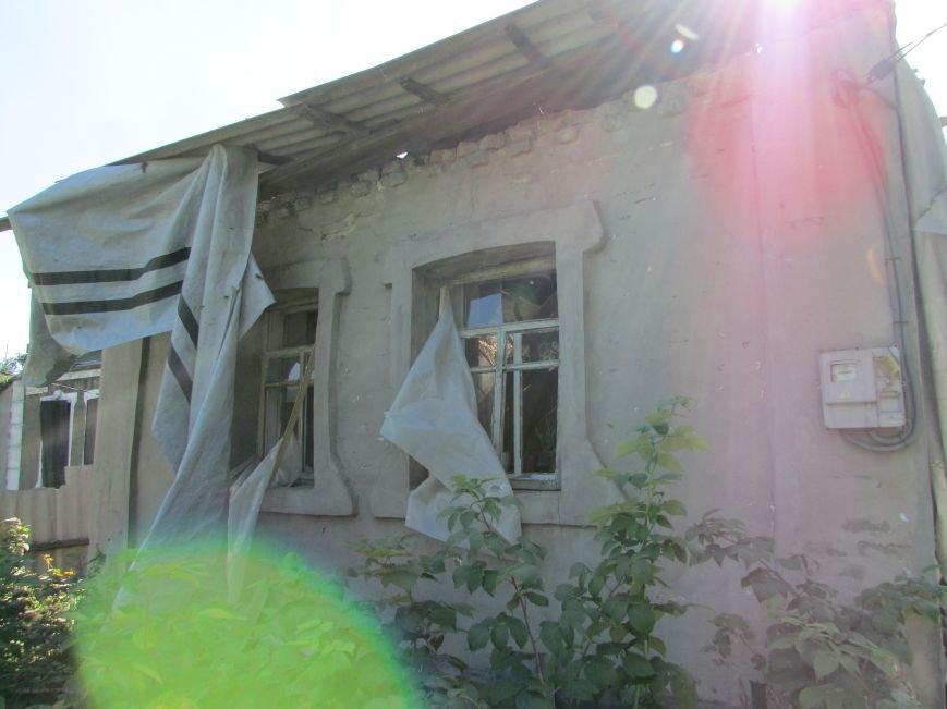 В результате ночного  обстрела в Авдеевке повреждены два дома (ФОТО), фото-7