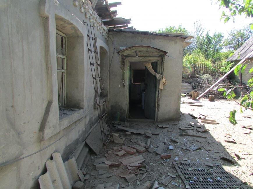 В результате ночного  обстрела в Авдеевке повреждены два дома (ФОТО), фото-5