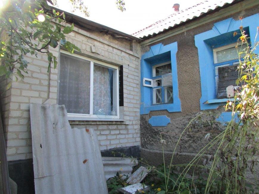В результате ночного  обстрела в Авдеевке повреждены два дома (ФОТО), фото-8