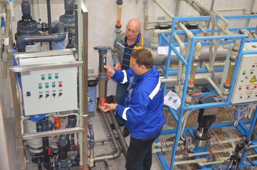 В Мариуполе внедрили уникальную ультрафильтрационную установку по очистке воды (ФОТО+ВИДЕО), фото-3
