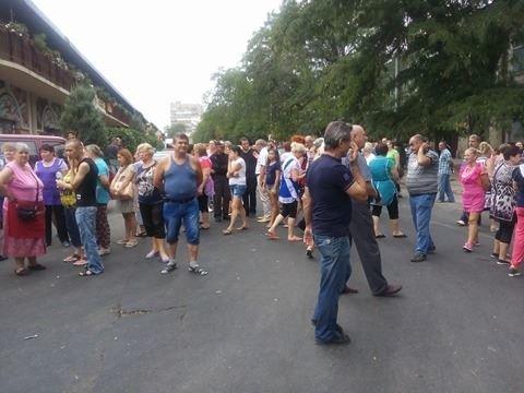 В центре Одессы предприниматели перекрыли улицу (ФОТО), фото-2