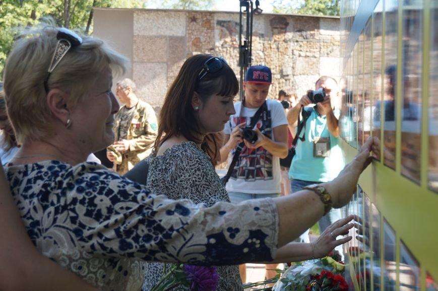 """""""Мы воевали не за медали, а если надо, еще пойдем""""- бойцы АТО почтили память погибших под Иловайском Героев (ФОТО, ВИДЕО), фото-6"""