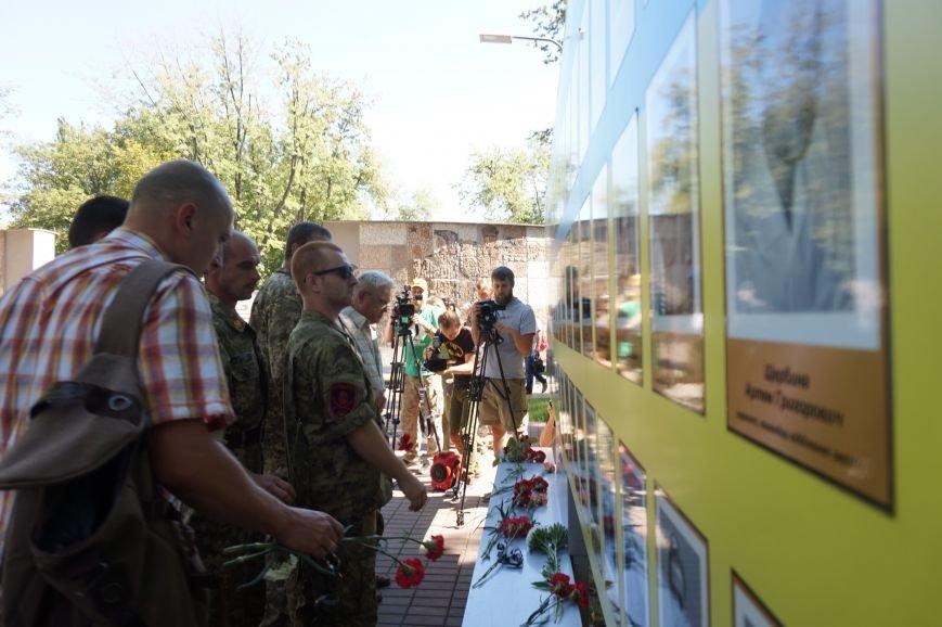 """""""Мы воевали не за медали, а если надо, еще пойдем""""- бойцы АТО почтили память погибших под Иловайском Героев (ФОТО, ВИДЕО), фото-2"""