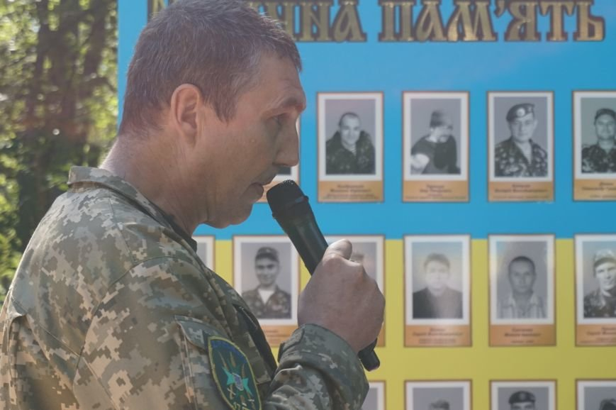 """""""Мы воевали не за медали, а если надо, еще пойдем""""- бойцы АТО почтили память погибших под Иловайском Героев (ФОТО, ВИДЕО), фото-14"""