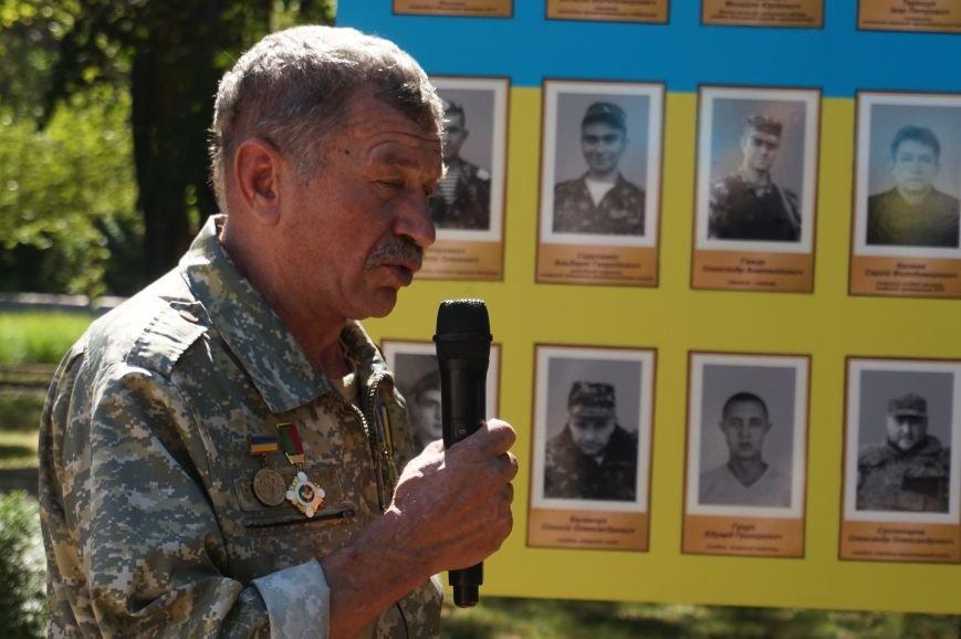 """""""Мы воевали не за медали, а если надо, еще пойдем""""- бойцы АТО почтили память погибших под Иловайском Героев (ФОТО, ВИДЕО), фото-15"""