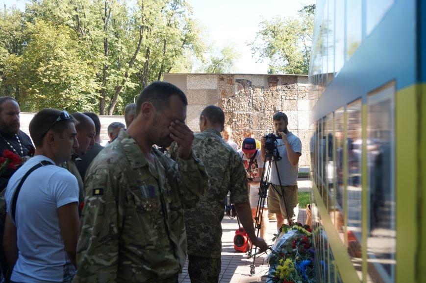 """""""Мы воевали не за медали, а если надо, еще пойдем""""- бойцы АТО почтили память погибших под Иловайском Героев (ФОТО, ВИДЕО), фото-4"""