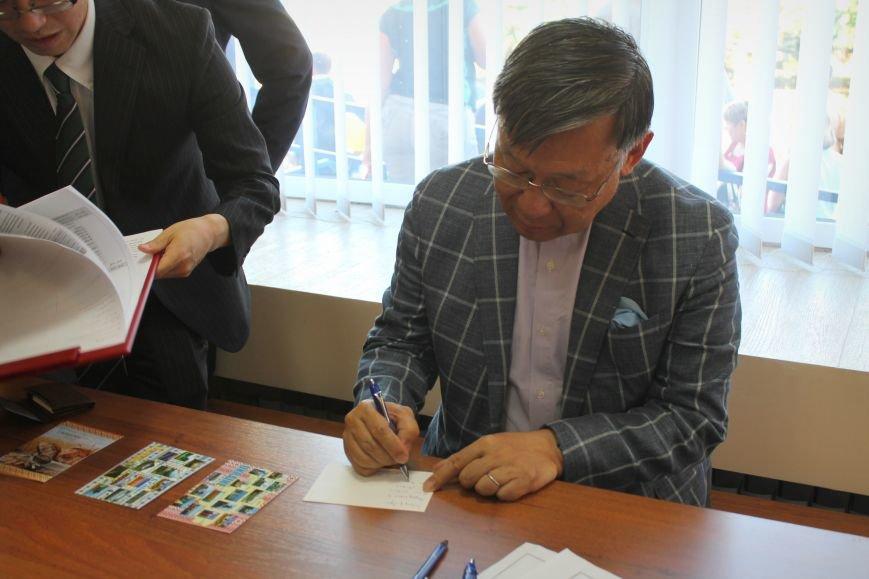 Посол Японии открыл восстановленное отделение почты в Николаевке, фото-12