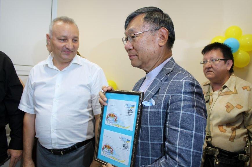 Посол Японии открыл восстановленное отделение почты в Николаевке, фото-13