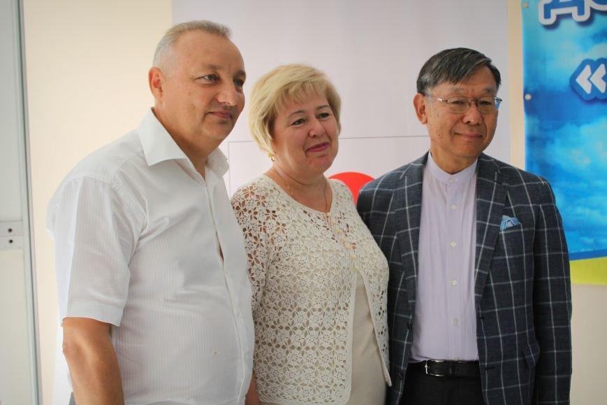 Посол Японии открыл восстановленное отделение почты в Николаевке, фото-7