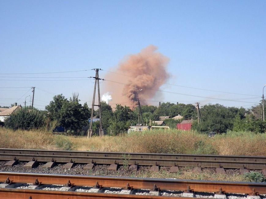 На бурый дым  в  Мариуполе обратил внимание генерал, а городские власти продолжают молчать (ФОТО+ВИДЕО), фото-3