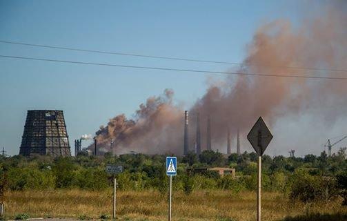 На бурый дым  в  Мариуполе обратил внимание генерал, а городские власти продолжают молчать (ФОТО+ВИДЕО), фото-5