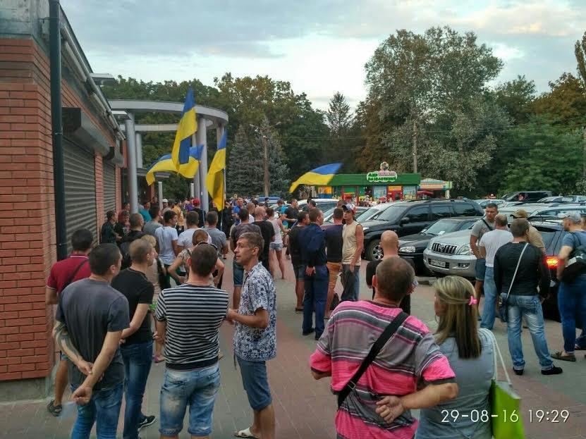 Одесские патриоты выступили против фильмов на русском языке (ФОТО), фото-1