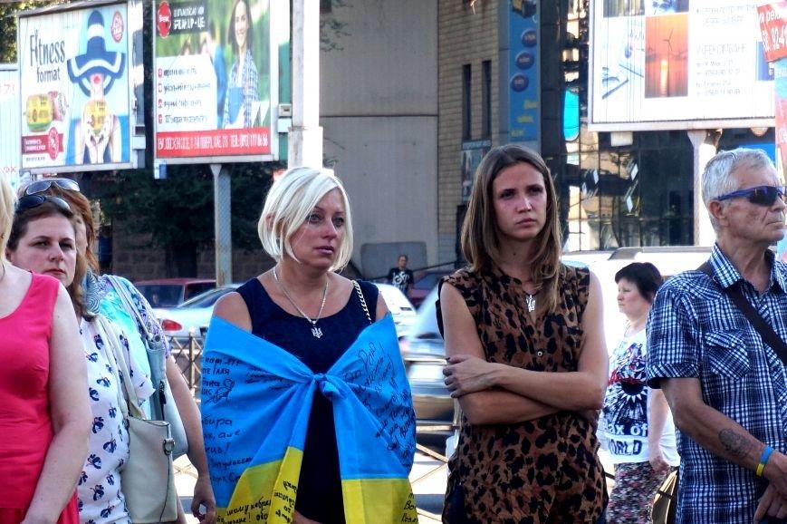 Криворожане вспомнили поименно земляков, погибших в зоне АТО и помолились за тех, кто и сегодня защищает нас от оккупантов  (ФОТО), фото-19