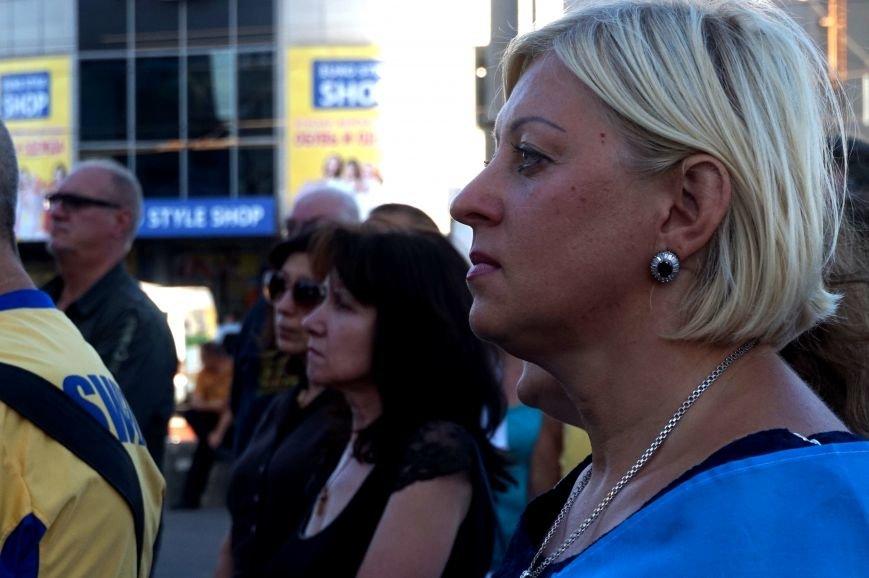 Криворожане вспомнили поименно земляков, погибших в зоне АТО и помолились за тех, кто и сегодня защищает нас от оккупантов  (ФОТО), фото-12