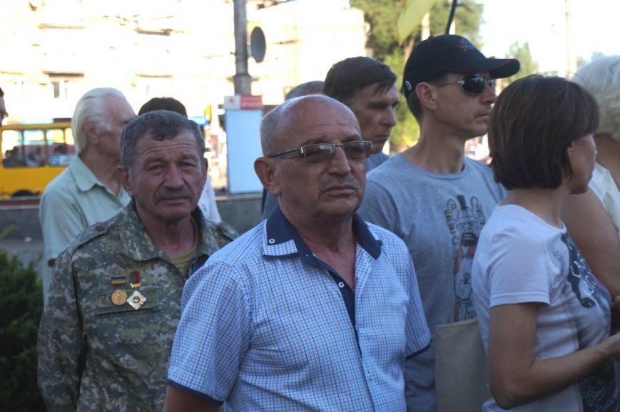 Криворожане вспомнили поименно земляков, погибших в зоне АТО и помолились за тех, кто и сегодня защищает нас от оккупантов  (ФОТО), фото-4