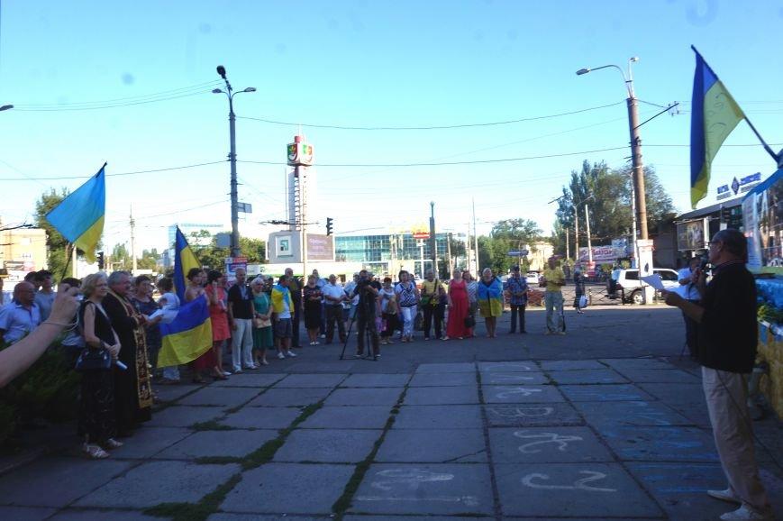 Криворожане вспомнили поименно земляков, погибших в зоне АТО и помолились за тех, кто и сегодня защищает нас от оккупантов  (ФОТО), фото-9