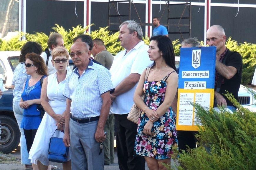 Криворожане вспомнили поименно земляков, погибших в зоне АТО и помолились за тех, кто и сегодня защищает нас от оккупантов  (ФОТО), фото-14
