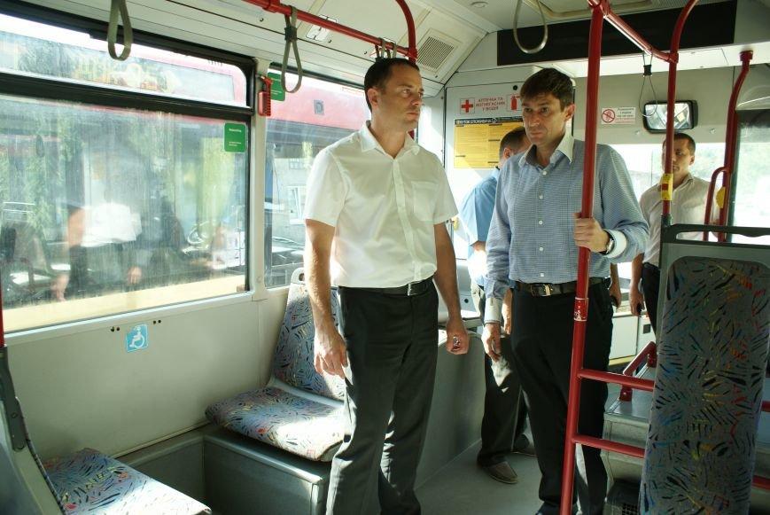 В Каменском презентовали новые автобусы большой вместимости, фото-4