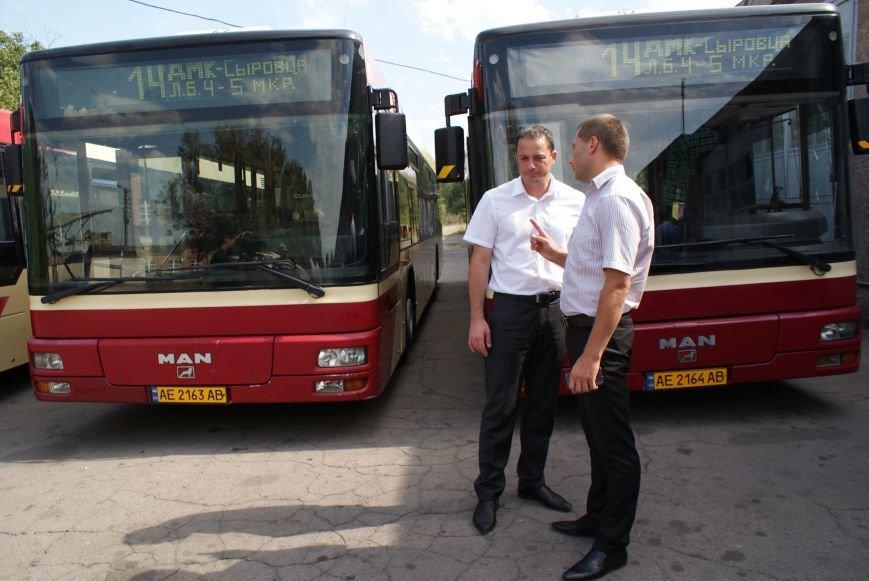 В Каменском презентовали новые автобусы большой вместимости, фото-5