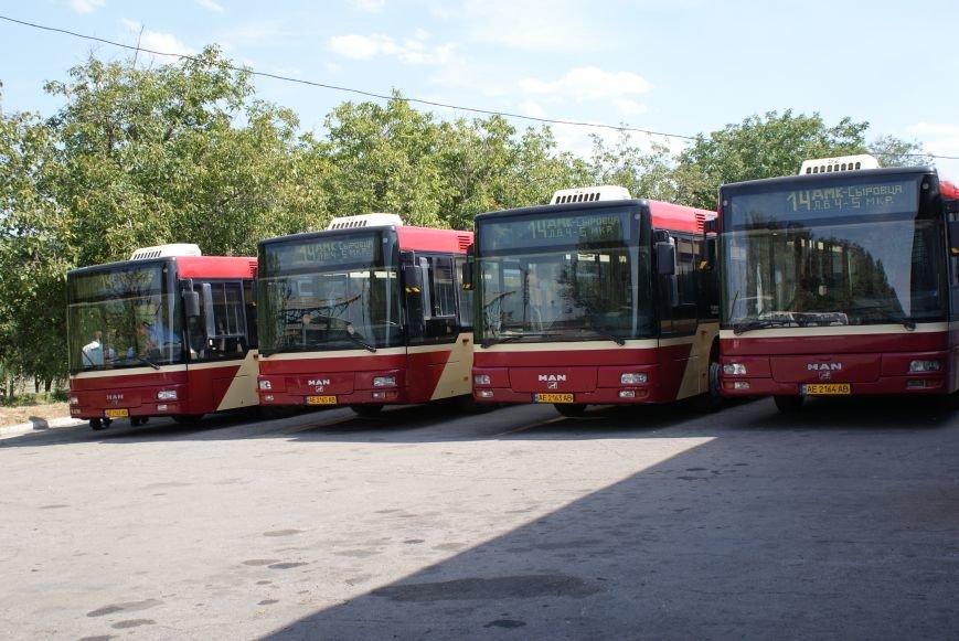 В Каменском презентовали новые автобусы большой вместимости, фото-1