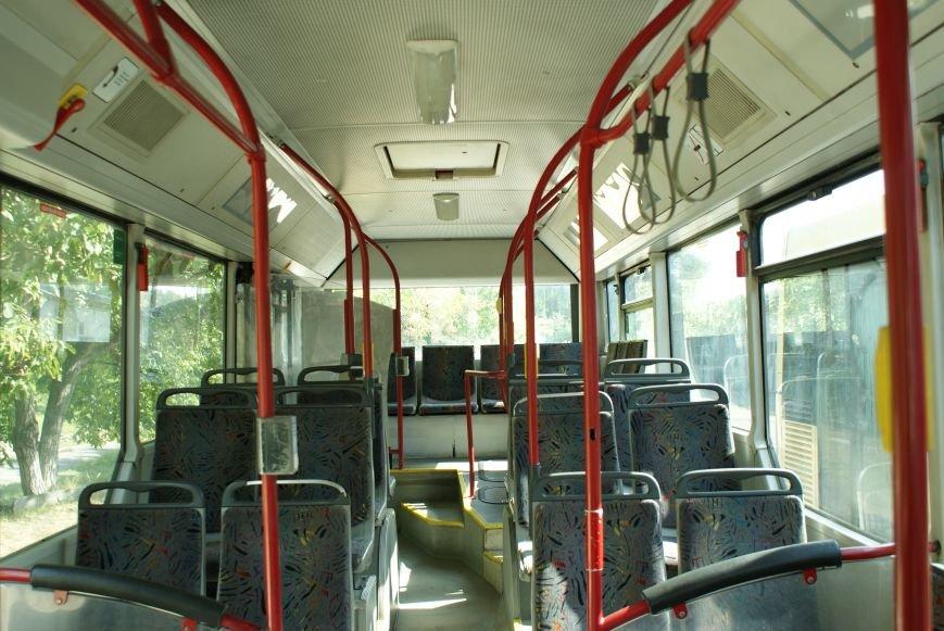В Каменском презентовали новые автобусы большой вместимости, фото-2