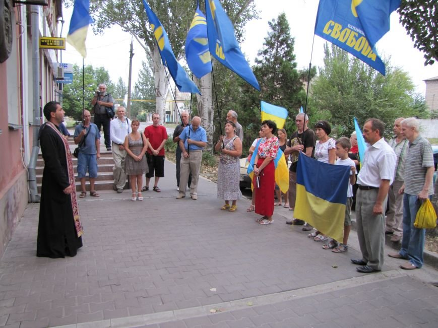 В Мелитополе почтили память Дмитрия Донцова, фото-2