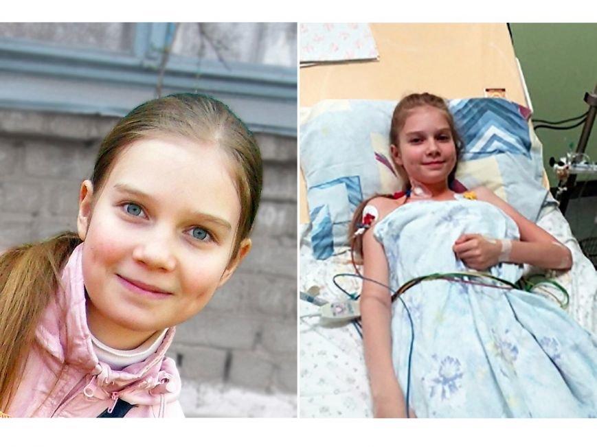 12-летней Олесе Цимбалист из Луганской области нужна помощь, фото-1