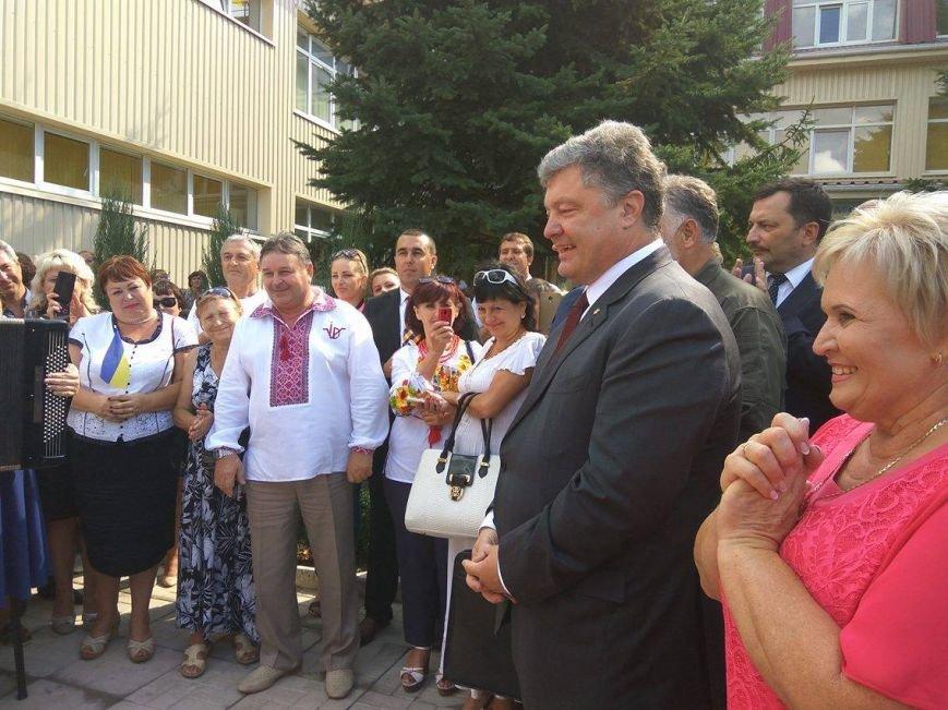 Президент  Порошенко  открыл детский сад в Мангуше (ФОТО), фото-2