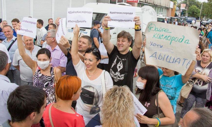 Порошенко заявил, что митингующими за чистый воздух в Мариуполе руководит Путин (ФОТО+ВИДЕО), фото-4