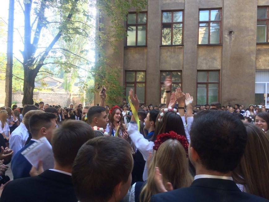 В Мариуполе в День знаний школьники признавались в любви к Украине (ФОТО, ВИДЕО), фото-9