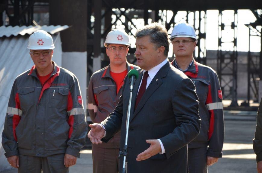 Порошенко заявил, что мариупольцы зарабатывают 7450 гривен в месяц  (ВИДЕО), фото-5