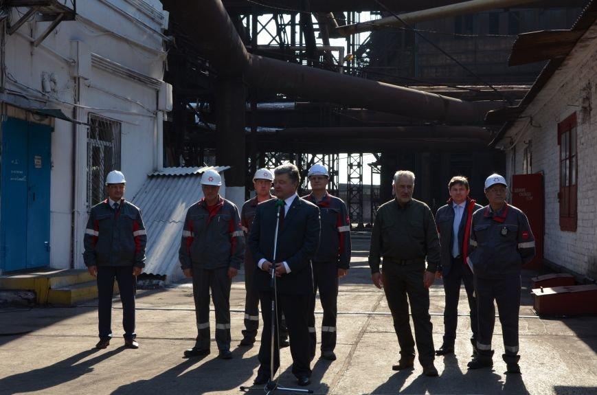 Порошенко заявил, что мариупольцы зарабатывают 7450 гривен в месяц  (ВИДЕО), фото-4