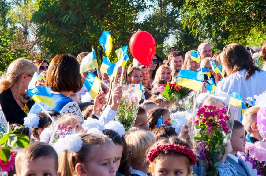 Сегодня Кременчугский лицей №4 отмечает Праздник первого звонка и своё 25-летие (фото и видео), фото-4