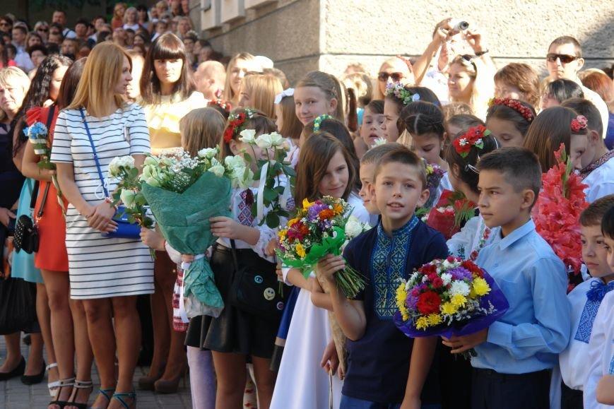 Свято першого дзвоника у 23 школі. Фоторепортаж, фото-7