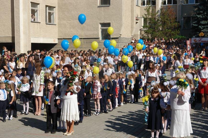 Свято першого дзвоника у 23 школі. Фоторепортаж, фото-4