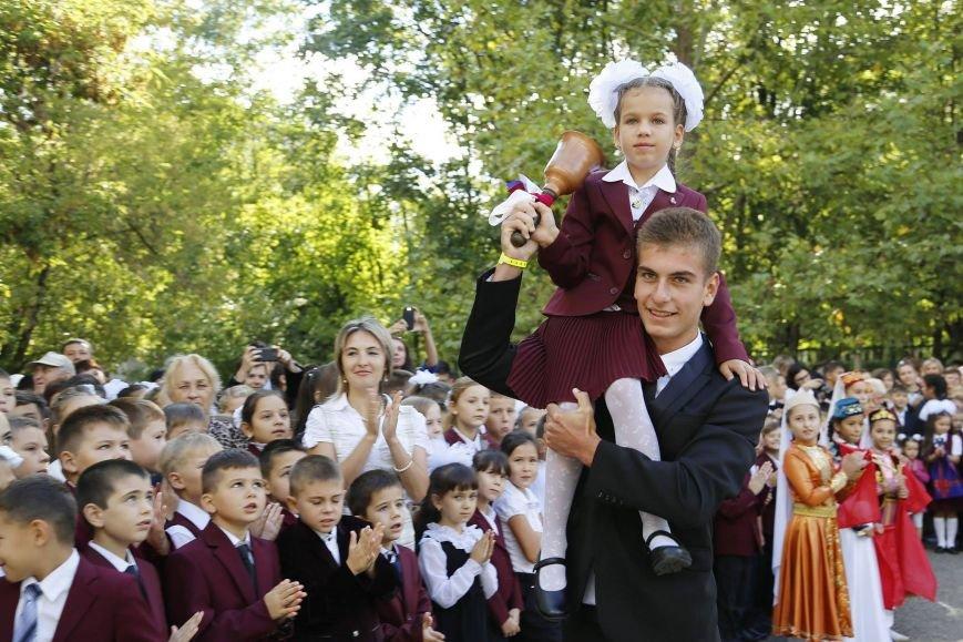 Аксенов поздравил крымских школьников с Днем знаний: «Без вас, ребята, успешного и счастливого будущего у Крыма не будет» (ФОТО), фото-5