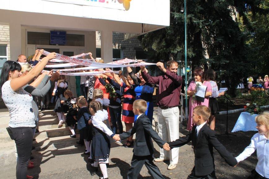 Дети школ Бахмута и района вновь сели за парты, фото-15