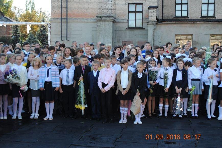 Новогродівські школи радо зустріли дітей 1 вересня, фото-8