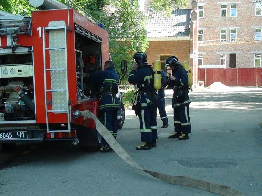 В одній із лікарень міста рятувальники гасили умовну пожежу, фото-2