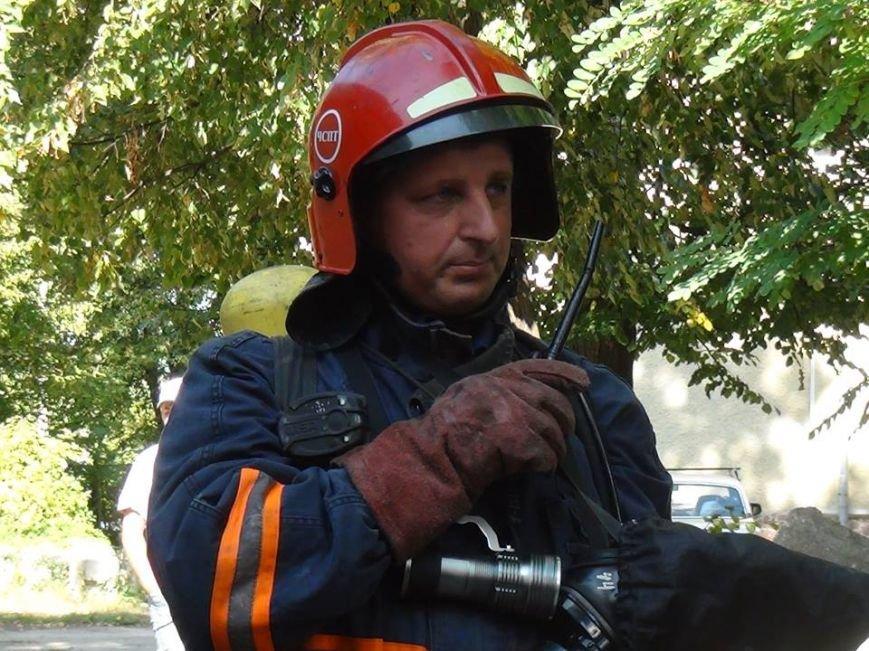 В одній із лікарень міста рятувальники гасили умовну пожежу, фото-7